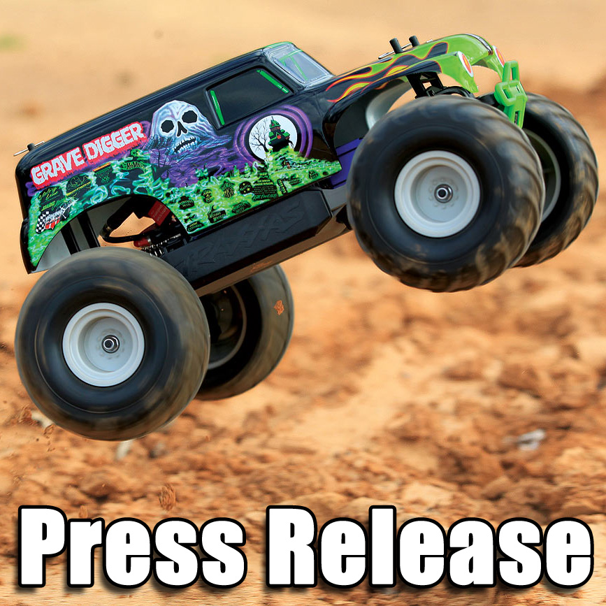 Traxxas 1/16 Grave Digger: NEW