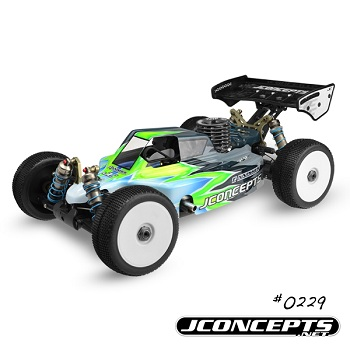 JConcepts Illuzion Kyosho MP9 And Team Associated RC8.2 Finnisher Bodies