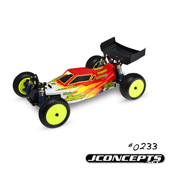 JConcepts Illuzion Team Durango Finnisher Body