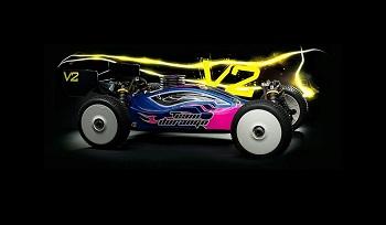 Team Durango DNX408 V2 1/8 Nitro 4WD Buggy