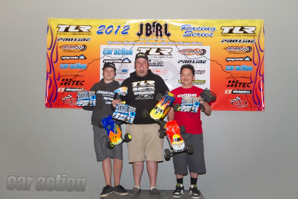 2012 JBRL Electric Series Round 1 Coverage – OC/RC Raceway