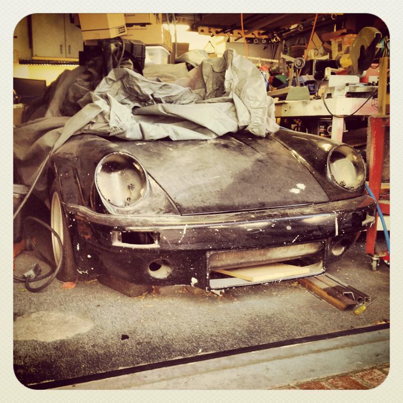 1970 Porsche 911T project car