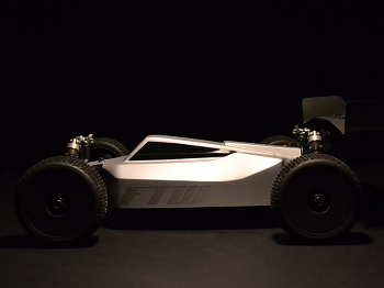 FTW Racing Components Exabyte Body For The Tekno V4 Conversion