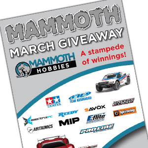 Mammoth March Giveaway