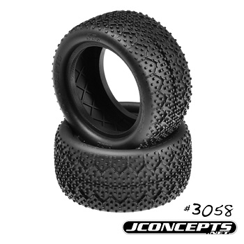 JConcepts Releases 1/10 Buggy 3Ds Tires And Inverse Hex Wheels, Plus 3mm Plastic Nuts