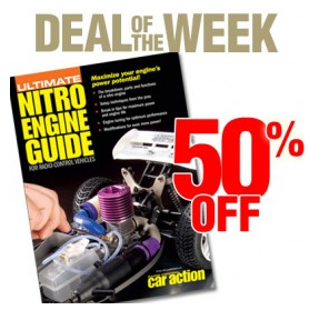 Deal Of The Week: 50% off Ultimate Nitro Engine Guide for Radio Control Vehicles