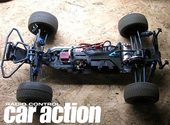 Spotted: X Factory SCX–60CF Shock Towers And Body Mounts For Kyosho Shocks
