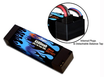 MaxAmps.com Internal Plug Low-Resistance LiPo Packs