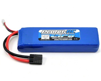 "ProTek R/C ""Sport Race"" 3S LiPo Packs With Traxxas Connectors"