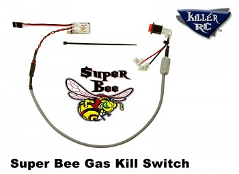 Killer RC Super Bee Gas Kill Switch For Large Scale Vehicles