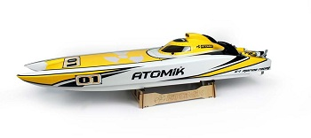 Atomik RC Launches New Website And Releases A.R.C 58″ RTR Electric Boat