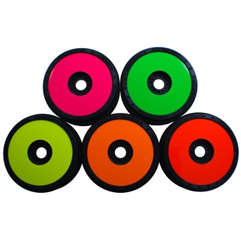 DE Racing Wheel Sticker Disks