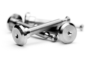 Avid Titanium Shock Pins For The Team Associated RC8.2, RC8.2e, And SC10 4×4