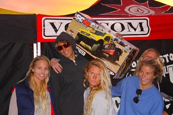 Team Associated Sponsors The Volcom Stone's Totally Crustaceous Tour For 2011-2012