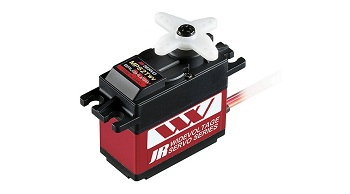 JR Radios Wide Voltage And Linear Hall Sensor Brushless Servos