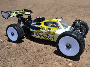 FTW Night Fox Body For The Agama A8 1/8 Buggy