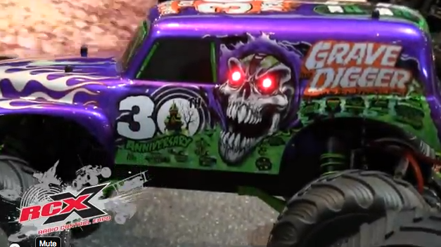 New Traxxas Grave Digger Body