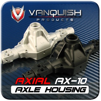 Vanquish Products Aluminum Option Parts For The Axial AX10, SCX10, And Wraith