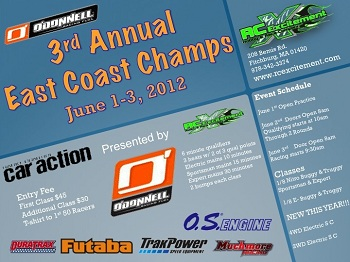3rd Annual East Coast Champs Presented By O'Donnell Racing Fuels, June 1-3