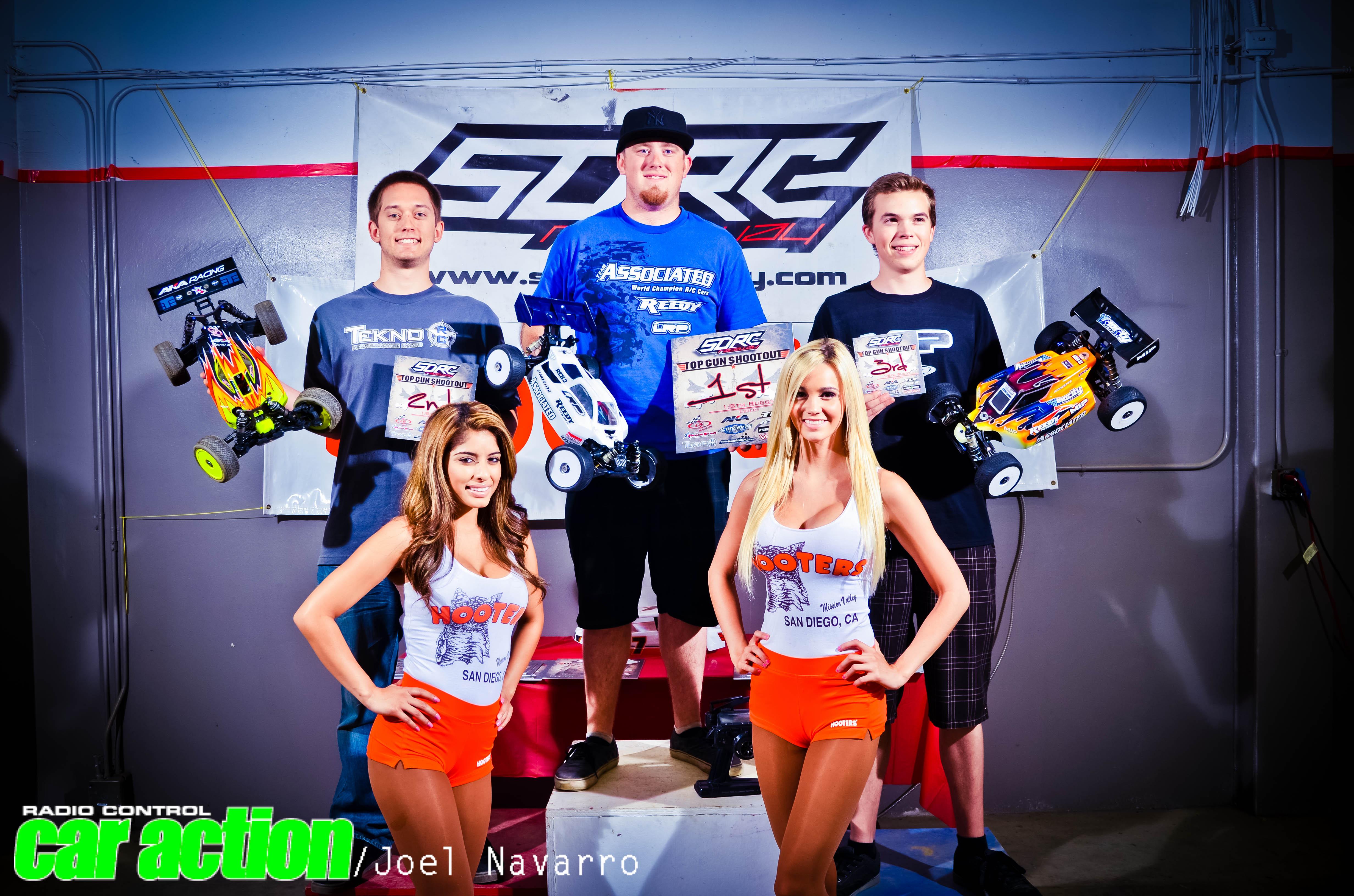 1/8th Scale Buggy Expert  1)  Chris Jarosz  2)  Lucas Sanford  3)  Matt Olson