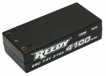 Reedy 4100mAh 65C Competition 7.4V Shorty LiPo Battery