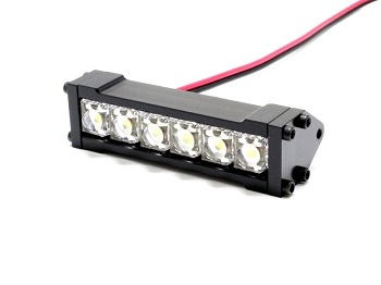 Gear Head RC Six Shooter LED Light Bar