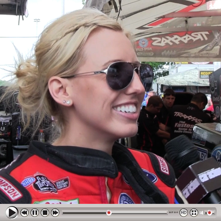 Traxxas' Courtney Force Interview [NEW PHOTOS ADDED]
