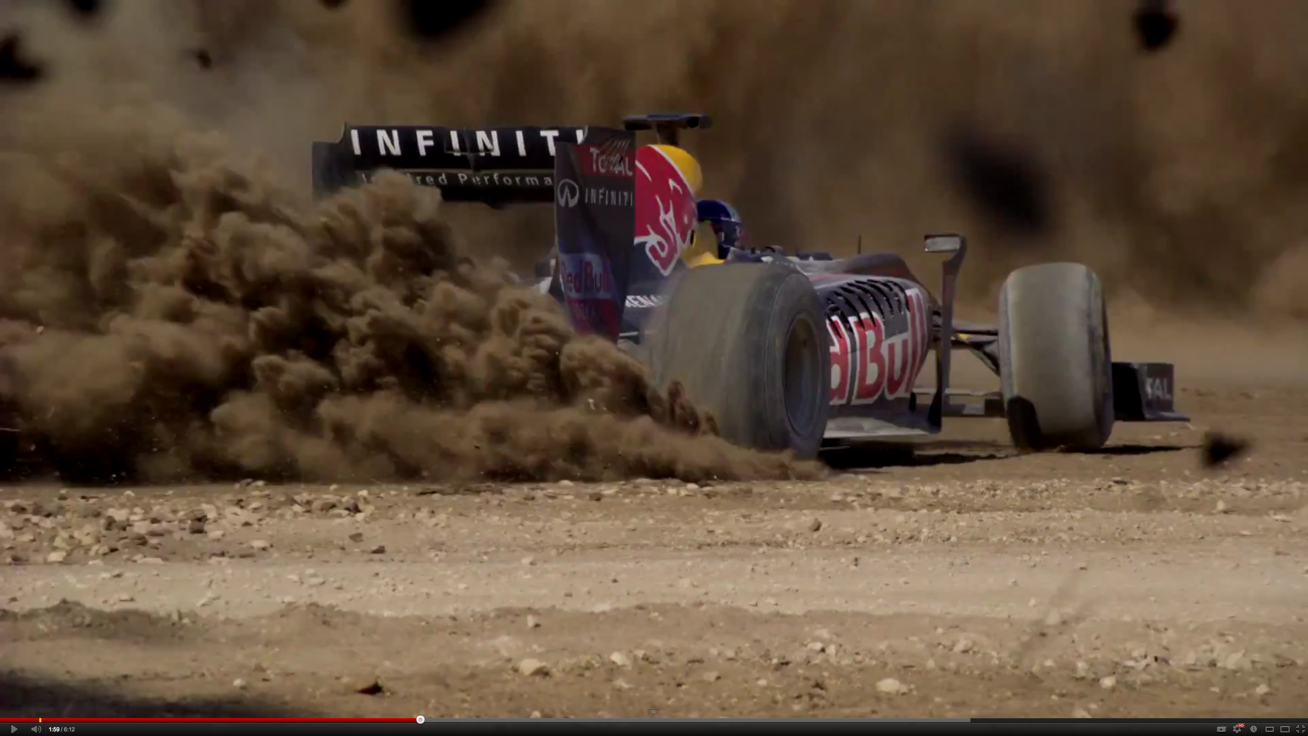 Redbull taking it to the dirt!