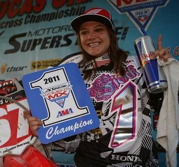 Women's Motocross Champ Ashley Fiolek Joins Traxxas