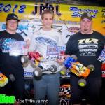 2wd Open Truck - Jimmy Barnett 2nd, Steven Hartson 1st, Mike Truhe 3rd.