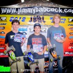 Sportsman Stock Buggy - Michael Losi 2nd, Kevin Motter 1st, Riley Haagsma 3rd.