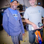 RC power houses Eustace Moore of MIP and Danny Lewis of Tekno.