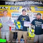 Expert 2wd SC - Michael Guzman 2nd, Matt Gilbert 1st, Jeremy Hase 3rd.