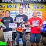 Sportsman 2wd Stock SC - Brandon Upshaw 2nd, Jon Witaker 1st, Patrick Posadas 3rd.