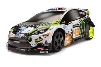 HPI Ken Block WR8 FLUX With Ford Fiesta H.F.H.V. Body