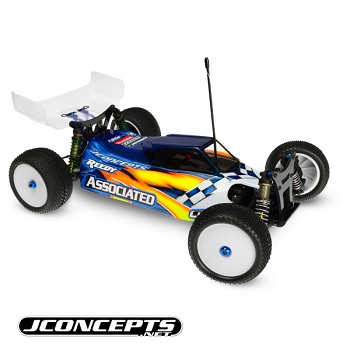 JConcepts Mono Dish Hex Wheels, Body Clips, And Thin Pattern Lock Nuts