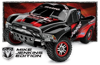 Traxxas Slash 4X4 Mike Jenkins Edition With New Ram Body