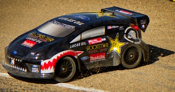Atomik RC RTR 1/18 Brian Deegan Metal Mulisha Ford Fiesta Rally Car