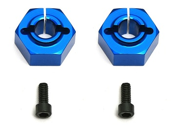 Team Associated Factory Team Aluminum Clamping Wheel Hexes