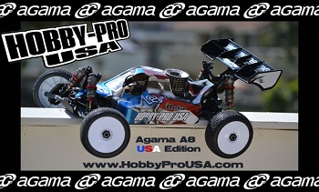 Agama A8 USA Edition 1/8 Nitro Buggy
