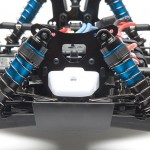 Updated RC8.2 racing suspension geometry