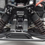 Updated suspension setting for more rear grip and stability