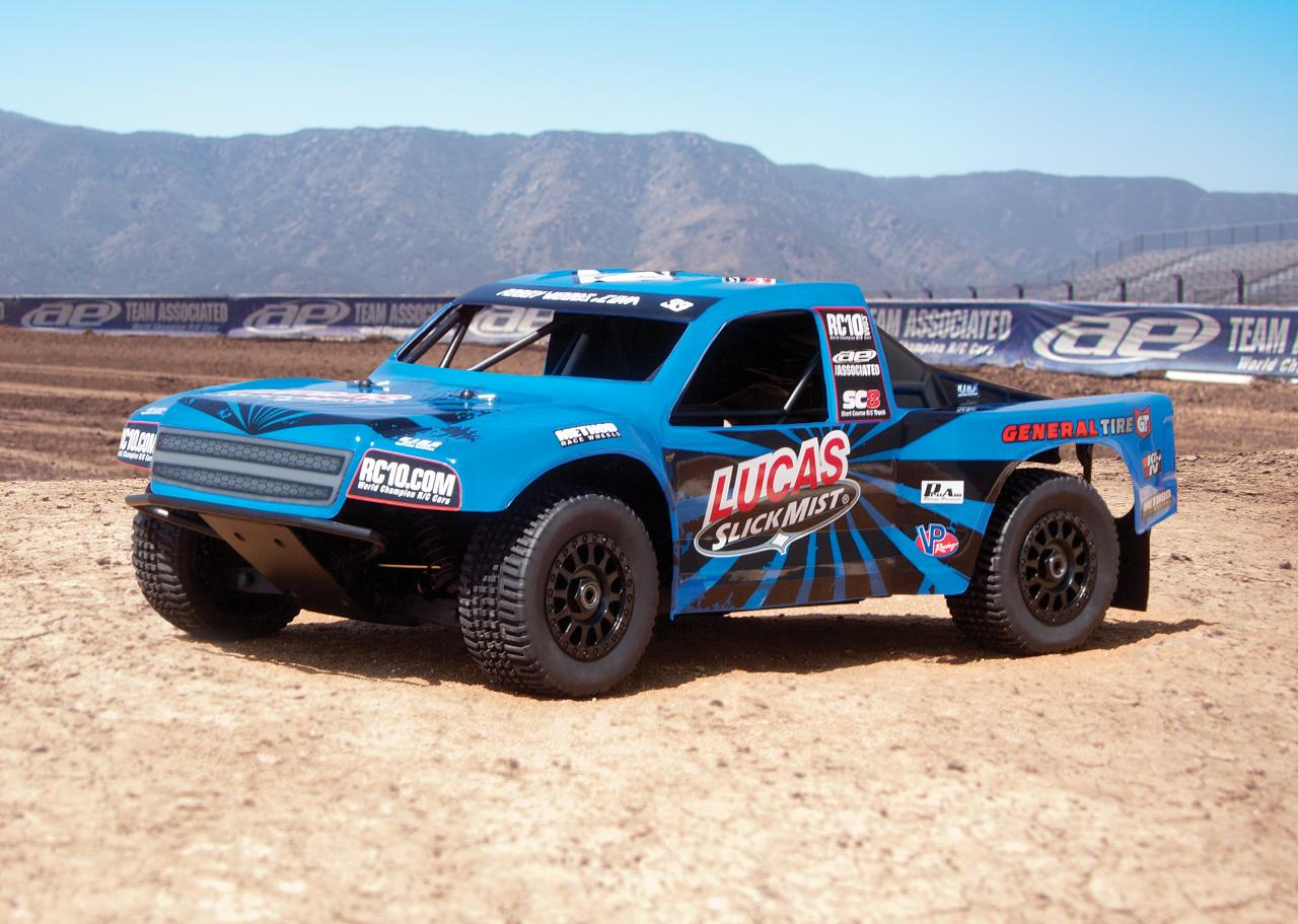 The Team Associated SC8.2e Ready-To-Run is in a Class of its Own!