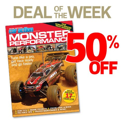 Deal Of The Week: Monster Performance Book [50% Off At The Air Age Store]