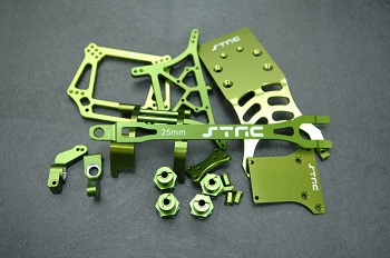ST Racing Concepts Green Option Parts For The Traxxas 2WD Slash And Monster Jam Replica Trucks