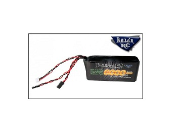 KillerRC RX Lipo Battery Packs For Large Scale Gas Vehicles