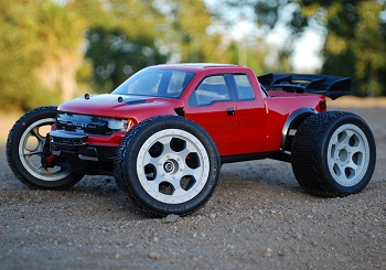 DE Racing Trinidad MT Wheels For The Traxxas 1/16 E-Revo