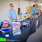 Tamiya staff was on hand displaying their latest offerings.
