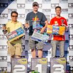 GT2 Winners - Solomon Figues Jr. 2nd, Mihai Gutuescu 1st, Kelvin Khng 3rd