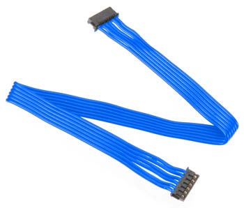 Punch It Racing Blue Flat Sensor Wires